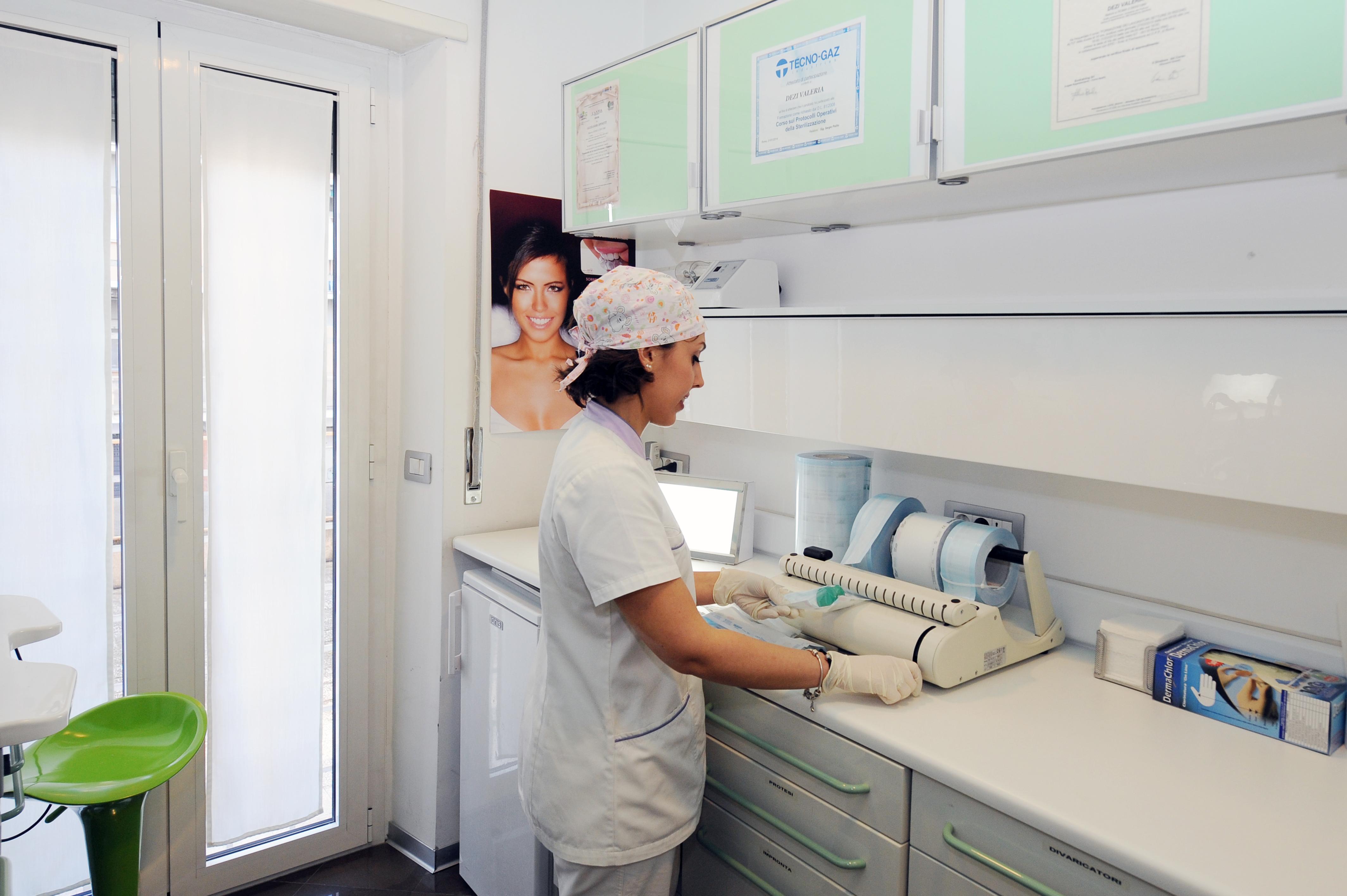 sala sterilizzazione